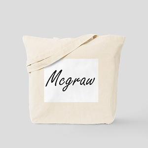 Mcgraw surname artistic design Tote Bag