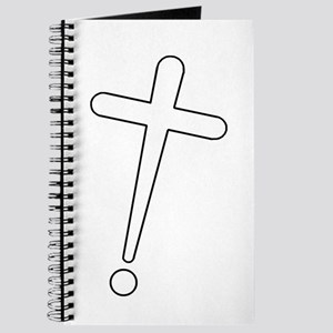 Exclamation-Cross whitewhite Journal