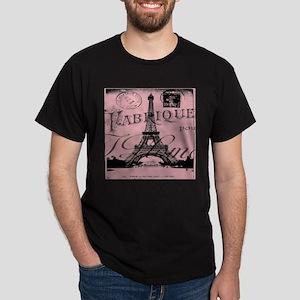 modern girly pink paris T-Shirt