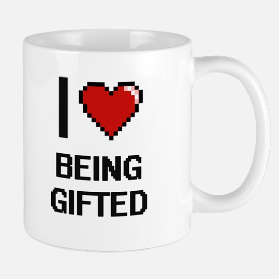 I Love Being Gifted Digitial Design Mugs