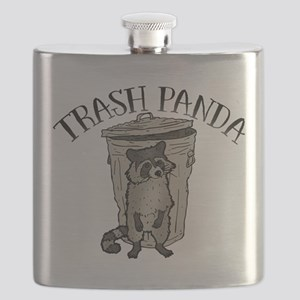 Raccoon Trash Panda Flask