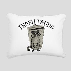 Raccoon Trash Panda Rectangular Canvas Pillow
