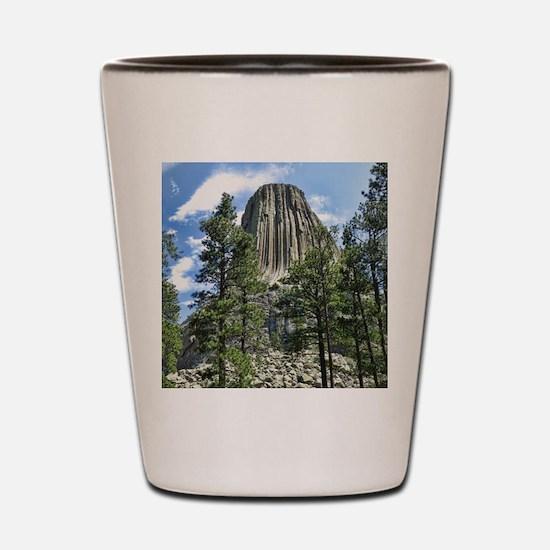 Helaine's Devil's Tower Shot Glass