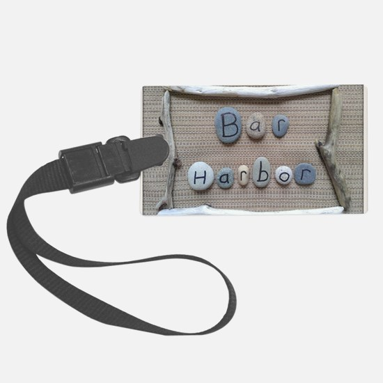 Bar Harbor - Beach Stones - Drif Luggage Tag