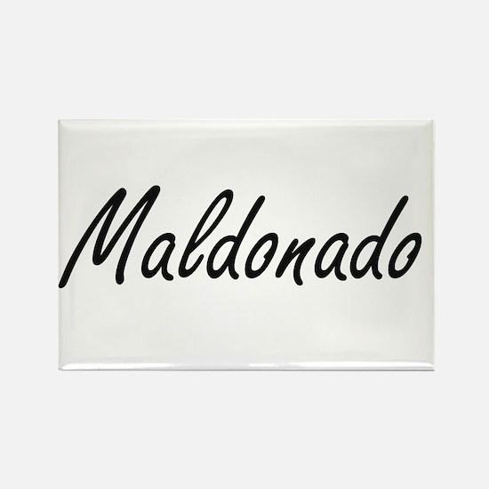 Maldonado surname artistic design Magnets