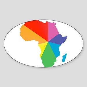 africa spectrum Sticker