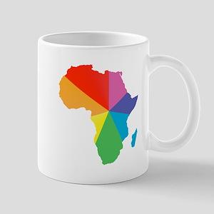 africa spectrum Mugs