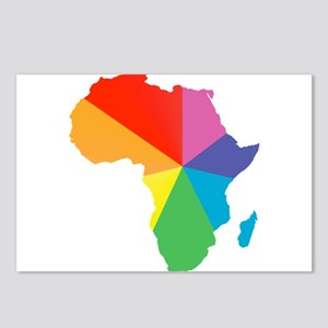africa spectrum Postcards (Package of 8)