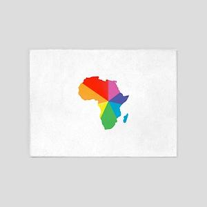 africa spectrum 5'x7'Area Rug
