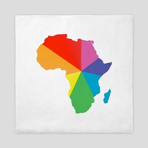 africa spectrum Queen Duvet