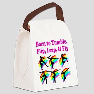GYMNAST FOREVER Canvas Lunch Bag