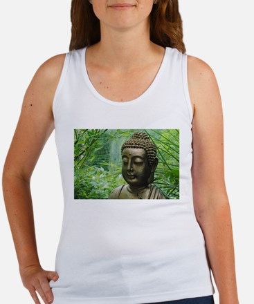 Buddha in the Forest Tank Top