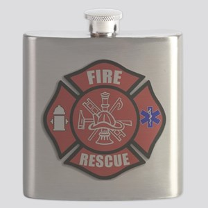 Fire Rescue Flask
