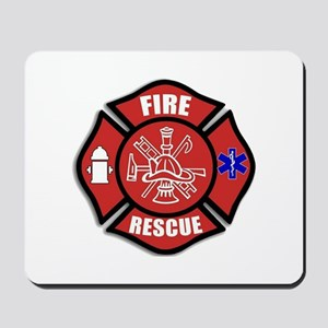 Fire Rescue Mousepad