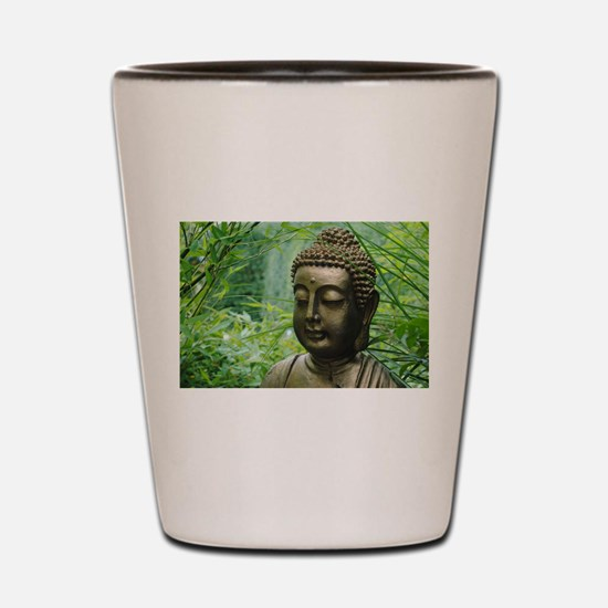 Buddha in the Forest Shot Glass