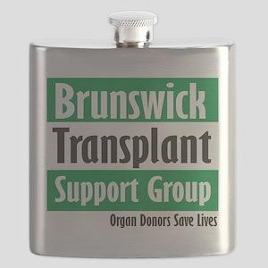 Brunswick Transplant Support Group logo Flask