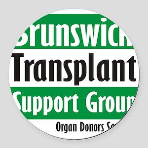 Brunswick Transplant Support Group logo Round Car