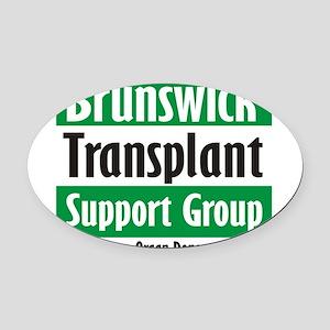 Brunswick Transplant Support Group logo Oval Car M