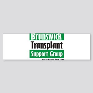 Brunswick Transplant Support Group logo Bumper Sti