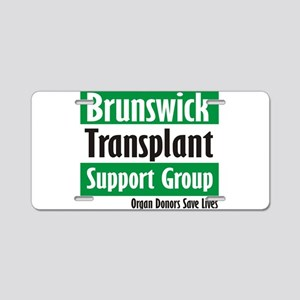 Brunswick Transplant Support Group logo Aluminum L
