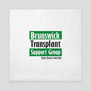 Brunswick Transplant Support Group logo Queen Duve