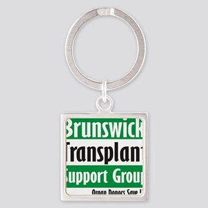 Brunswick Transplant Support Group logo Keychains