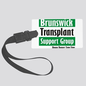 Brunswick Transplant Support Group logo Luggage Ta