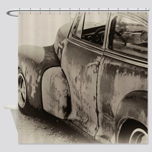 Rusty Car Shower Curtain