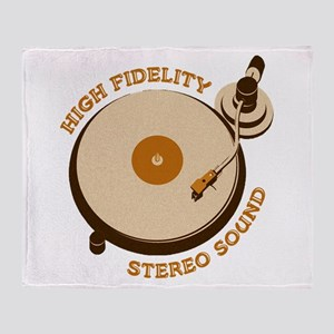 High Fidelity Throw Blanket