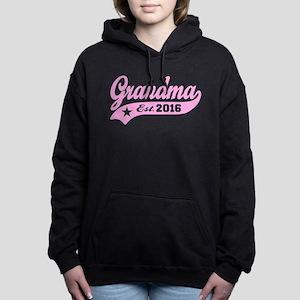Grandma Est. 2016 Women's Hooded Sweatshirt