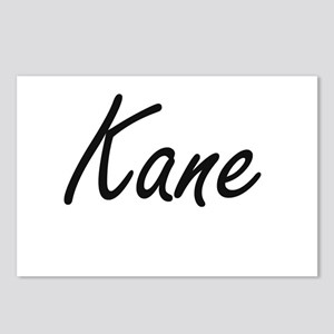Kane surname artistic des Postcards (Package of 8)