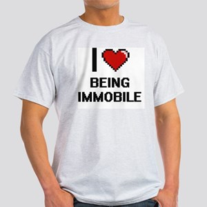 I Love Being Immobile Digitial T-Shirt