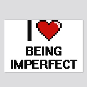 I Love Being Imperfect Di Postcards (Package of 8)