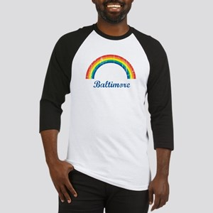 Baltimore (vintage rainbow) Baseball Jersey