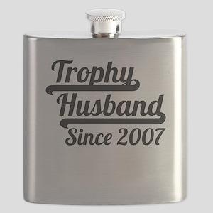 Trophy Husband Since 2007 Flask
