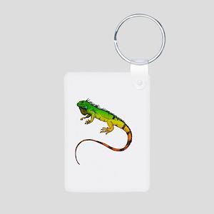 Green Iguana Keychains