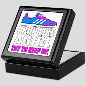Run Like A Girl  Keepsake Box