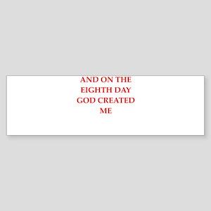 god Bumper Sticker