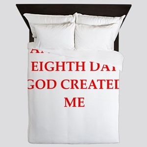 god Queen Duvet