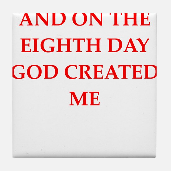 god Tile Coaster