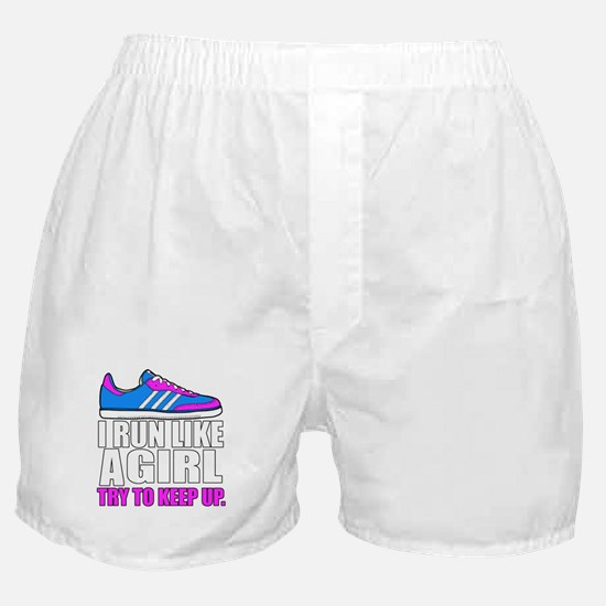 Run Like A Girl Boxer Shorts