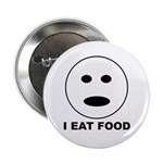 "I Eat Food 2.25"" Button (100 pack)"