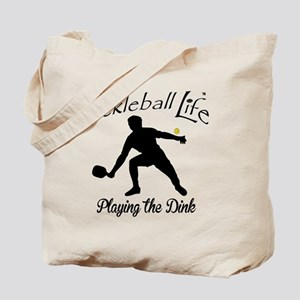 Pickleball Life Playing the Dink Tote Bag