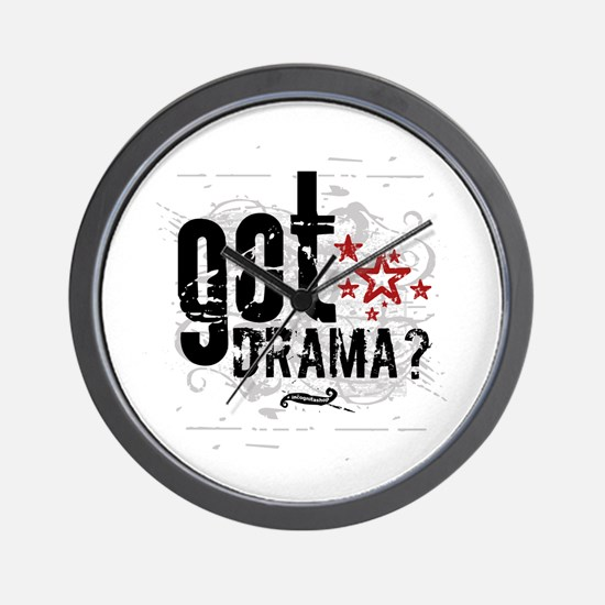 Got Drama Wall Clock