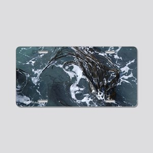 Seaweed Aluminum License Plate