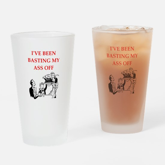 thanksgiving Drinking Glass