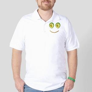 Cute Avocado Face Rieko's Fave Golf Shirt