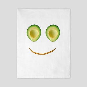 Cute Avocado Face Rieko's Fave Twin Duvet