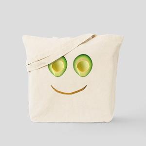 Cute Avocado Face Rieko's Fave Tote Bag