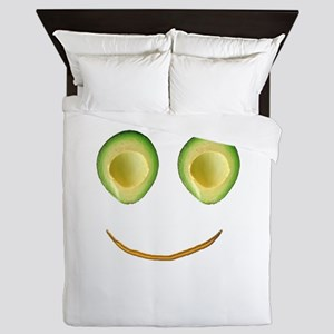 Cute Avocado Face Rieko's Fave Queen Duvet